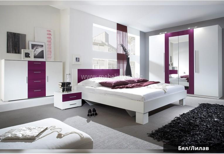 спални комплекти Бял